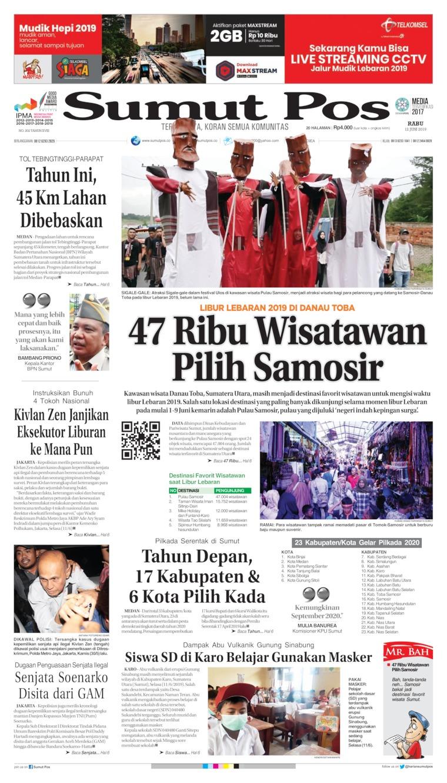 Koran Digital SUMUT POS 12 Juni 2019