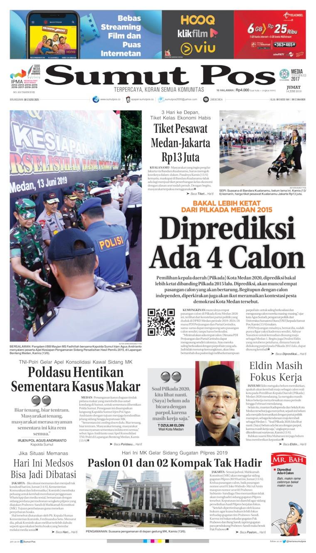 Koran Digital SUMUT POS 14 Juni 2019
