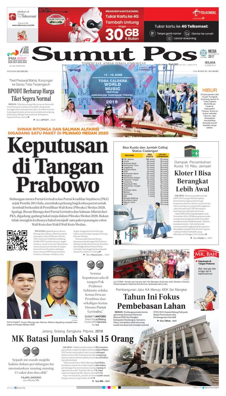 Koran Digital SUMUT POS 18 Juni 2019