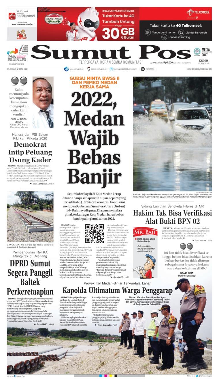 Koran Digital SUMUT POS 20 Juni 2019