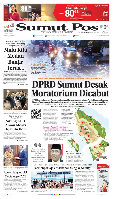 Koran Digital SUMUT POS 21 Juni 2019