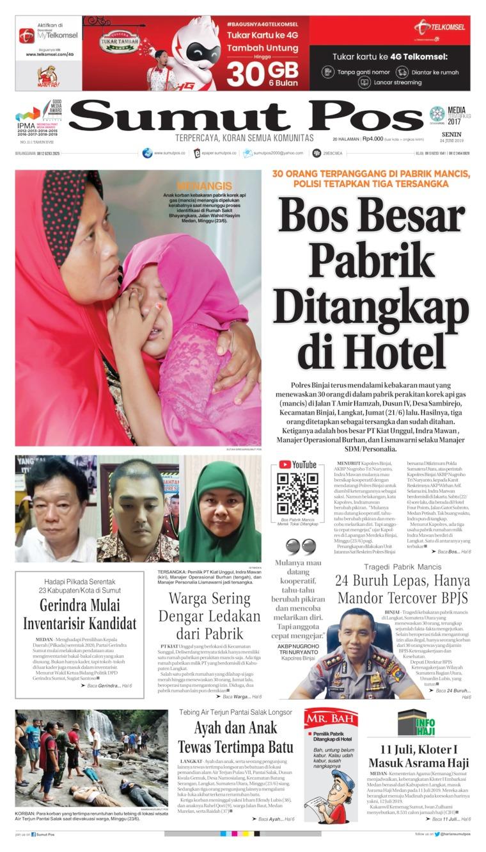 Koran Digital SUMUT POS 24 Juni 2019