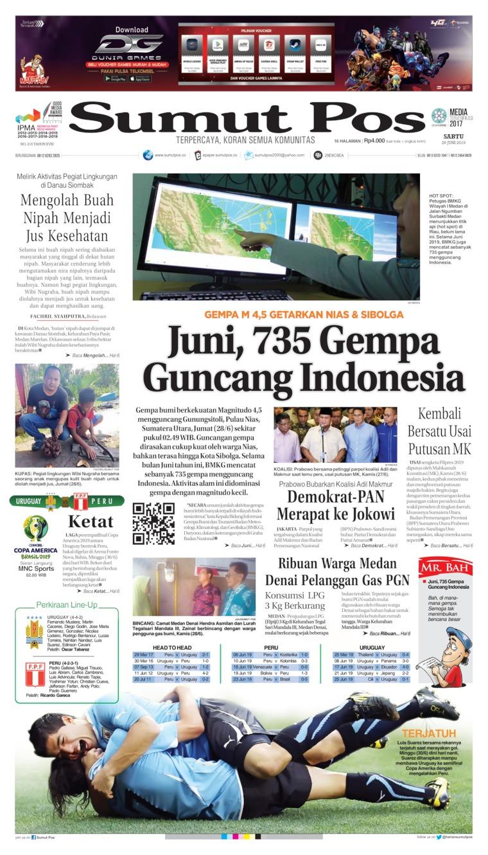 Koran Digital SUMUT POS 29 Juni 2019