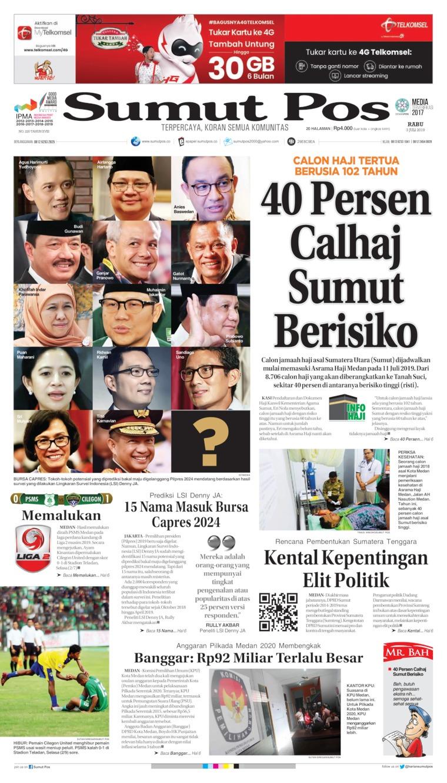 Koran Digital SUMUT POS 03 Juli 2019