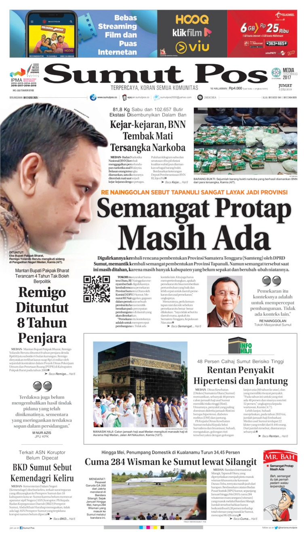 Koran Digital SUMUT POS 05 Juli 2019