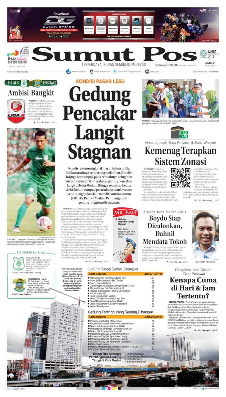 Koran Digital SUMUT POS 06 Juli 2019
