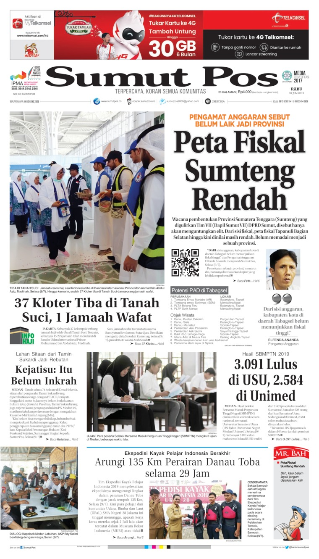 Koran Digital SUMUT POS 10 Juli 2019