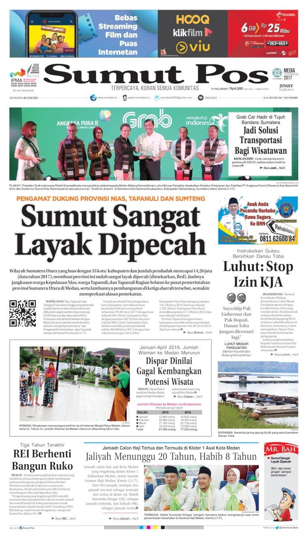 Koran Digital SUMUT POS 12 Juli 2019