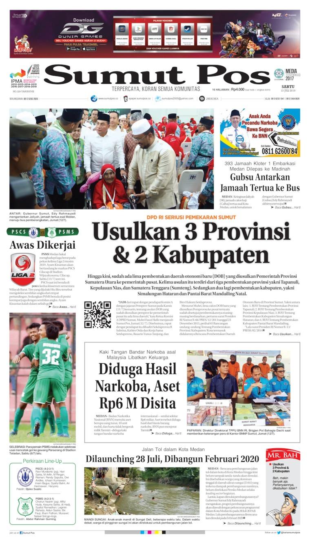 Koran Digital SUMUT POS 13 Juli 2019