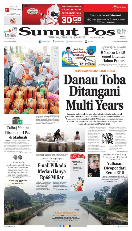 Koran Digital SUMUT POS 18 Juli 2019