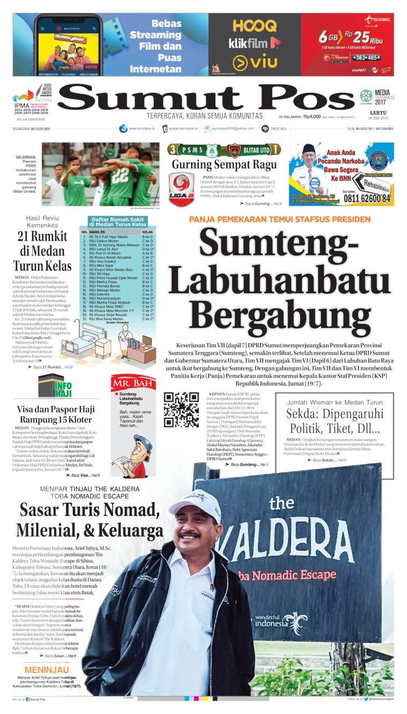 Koran Digital SUMUT POS 20 Juli 2019