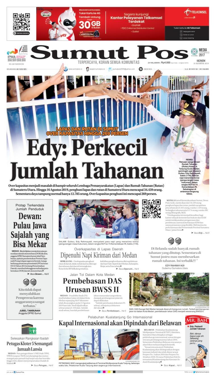 SUMUT POS Digital Newspaper 19 August 2019