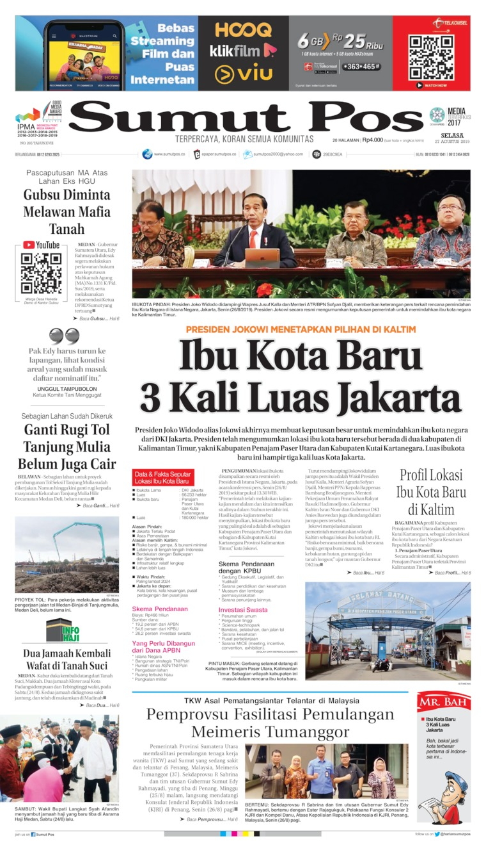Koran Digital SUMUT POS 27 Agustus 2019