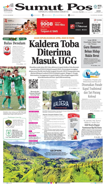 Koran Digital SUMUT POS 02 September 2019