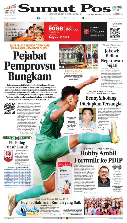SUMUT POS Digital Newspaper 13 September 2019