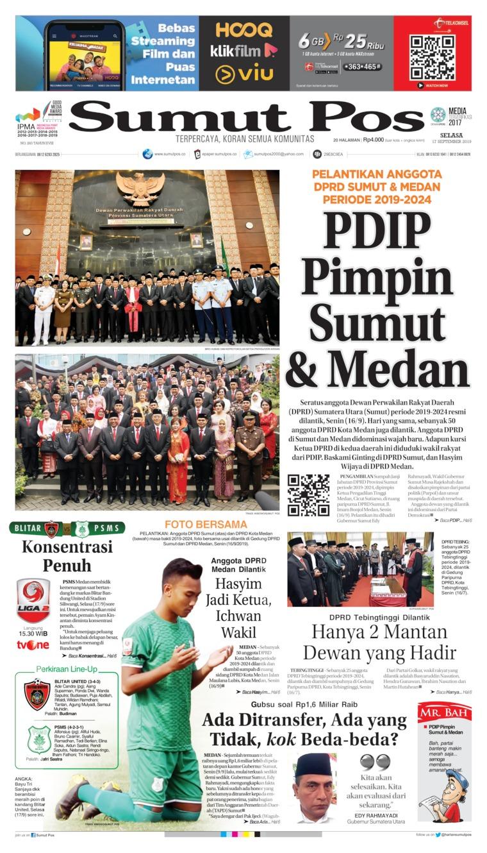 SUMUT POS Digital Newspaper 17 September 2019