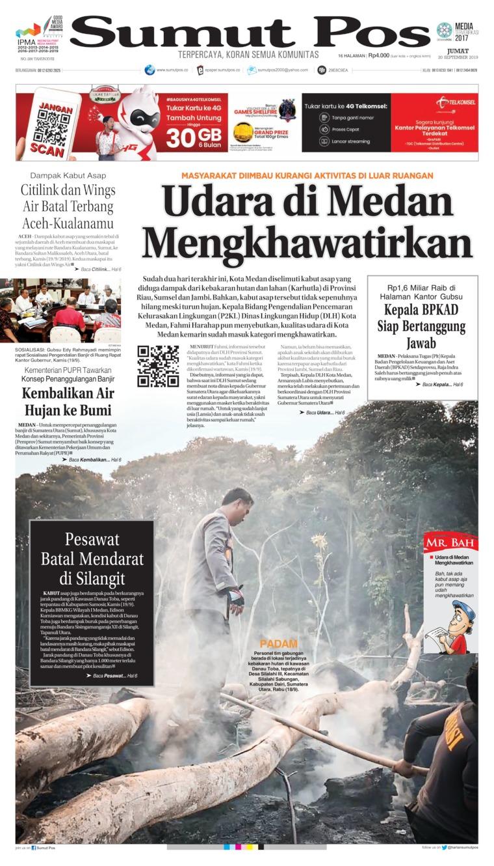 SUMUT POS Digital Newspaper 20 September 2019