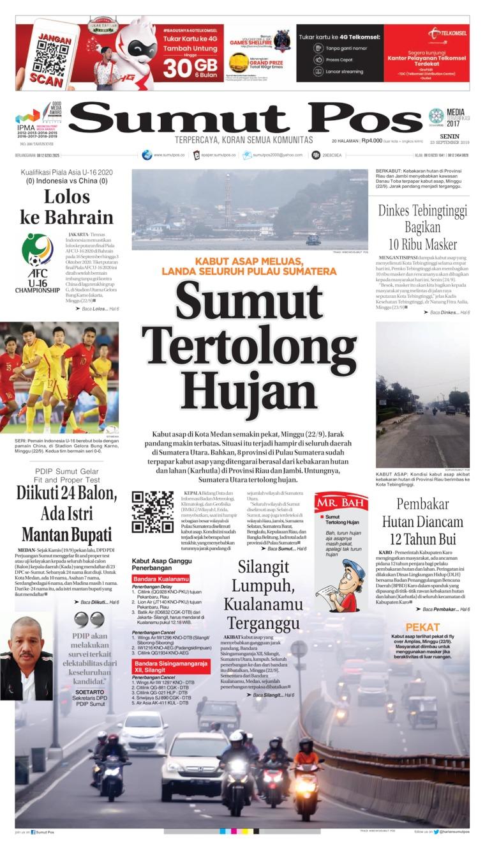 Koran Digital SUMUT POS 23 September 2019