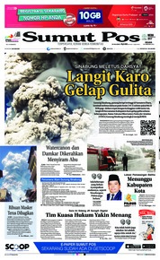 Cover SUMUT POS 20 Februari 2018