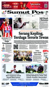 Cover SUMUT POS 16 Mei 2018