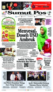 Cover SUMUT POS 21 Mei 2018