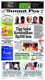 Cover SUMUT POS 24 Mei 2018