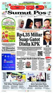 Cover SUMUT POS 25 Mei 2018