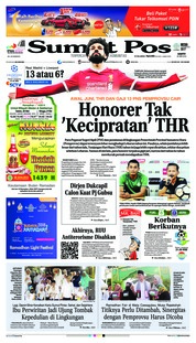 Cover SUMUT POS 26 Mei 2018