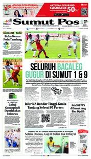 Cover SUMUT POS 13 Agustus 2018