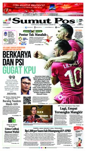 Cover SUMUT POS 15 Agustus 2018