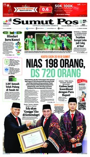 Cover SUMUT POS 12 September 2018