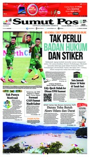 Cover SUMUT POS 13 September 2018
