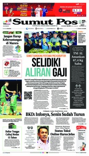Cover SUMUT POS 15 September 2018