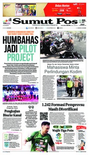 Cover SUMUT POS 21 September 2018