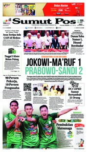 Cover SUMUT POS 22 September 2018