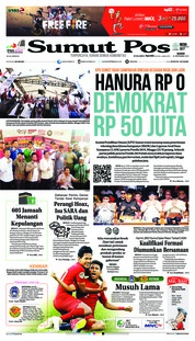 Cover SUMUT POS 24 September 2018