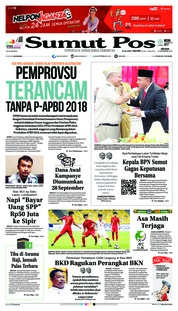Cover SUMUT POS 25 September 2018