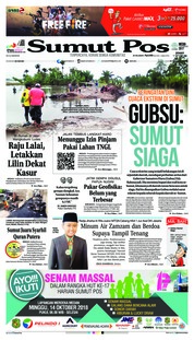 Cover SUMUT POS 12 Oktober 2018
