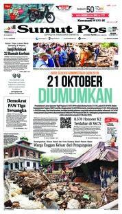 Cover SUMUT POS 16 Oktober 2018