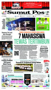 Cover SUMUT POS 03 Desember 2018