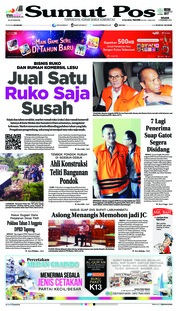 Cover SUMUT POS 04 Desember 2018