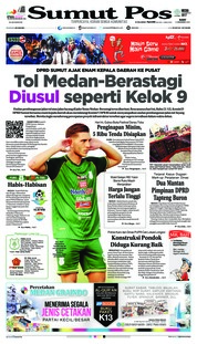 Cover SUMUT POS 05 Desember 2018