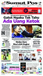 Cover SUMUT POS 06 Desember 2018