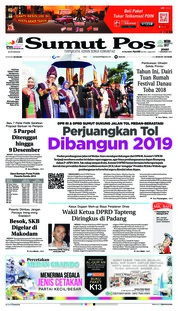 Cover SUMUT POS 07 Desember 2018