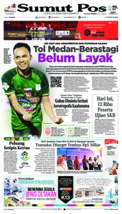 Cover SUMUT POS 08 Desember 2018