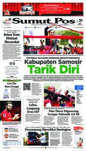 Cover SUMUT POS 12 Desember 2018