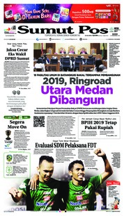 Cover SUMUT POS 13 Desember 2018