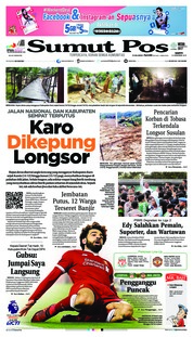 Cover SUMUT POS 15 Desember 2018