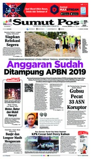 Cover SUMUT POS 17 Desember 2018