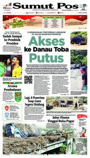 Cover SUMUT POS 19 Desember 2018
